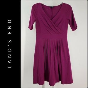Land's End Women's Fit and Flare Dress Size XL